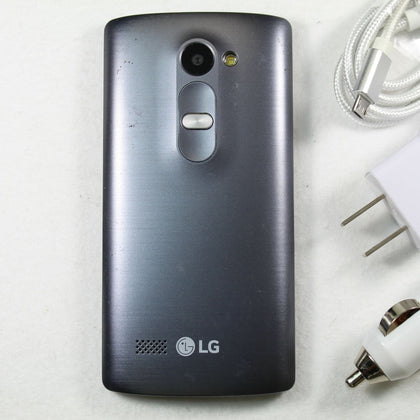 LG Risio (Cricket) 4G LTE Smartphone LH345 4GB Gray 🌟 Fast Shipping 🌟
