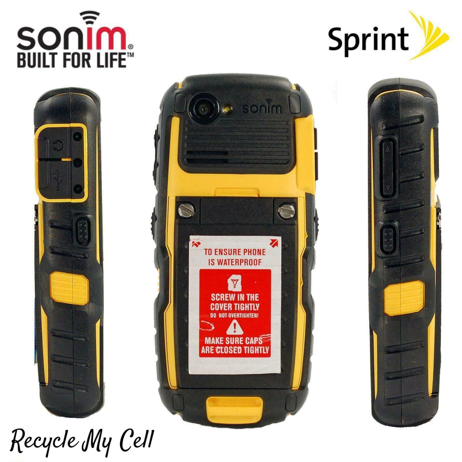 Sonim XP3410 (Sprint) XP Strike Rugged Cell Phone - 3G Compatible - Military
