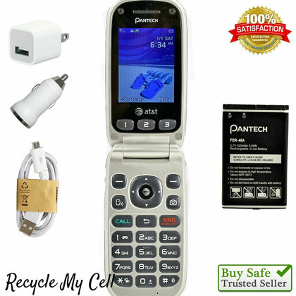 Wholesale Pantech Breeze 3 P2030 (AT&T) Cell Phone 3G - ASIS - Fast Shipping