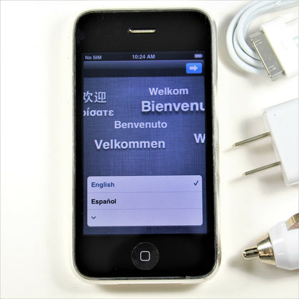Apple iPhone 3GS (AT&T) Smartphone 16GB Rare White A1303 IMEI: 011950007666004