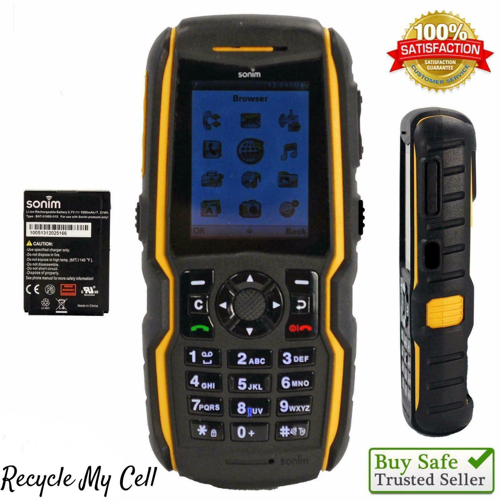Sonim XP5560 Bolt (AT&T) 3G Rugged Certified Military Phone GSM - PHONE ONLY