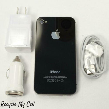 Apple iPhone 4S (Sprint) 8GB Smartphone 3G Speed CDMA - A1387 - Black/White