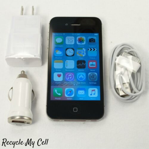 Apple iPhone 4s (Unlocked GSM) 16GB Smartphone 3G - AT&T Cricket T-Mobile Metro