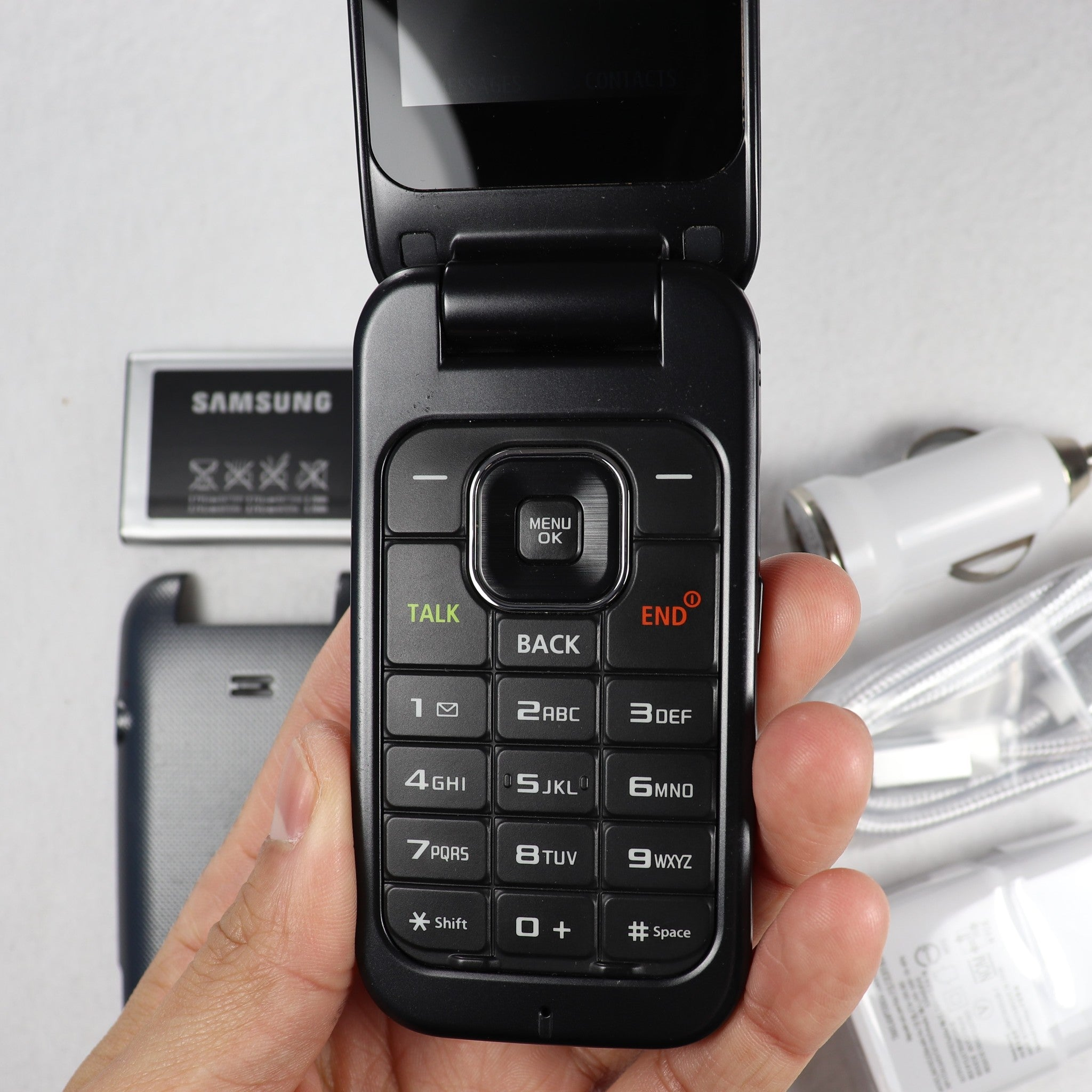 Samsung SPH-M370 (Sprint) Flip Phone 2G / 3G - Fast Free Shipping!