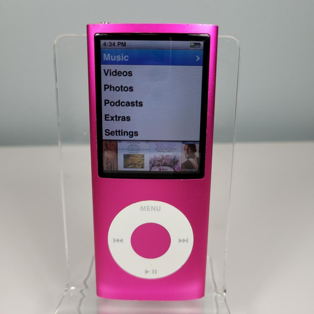 Apple iPod Nano 4th Gen - 8GB - PINK (Fast USA Ship!) A1285