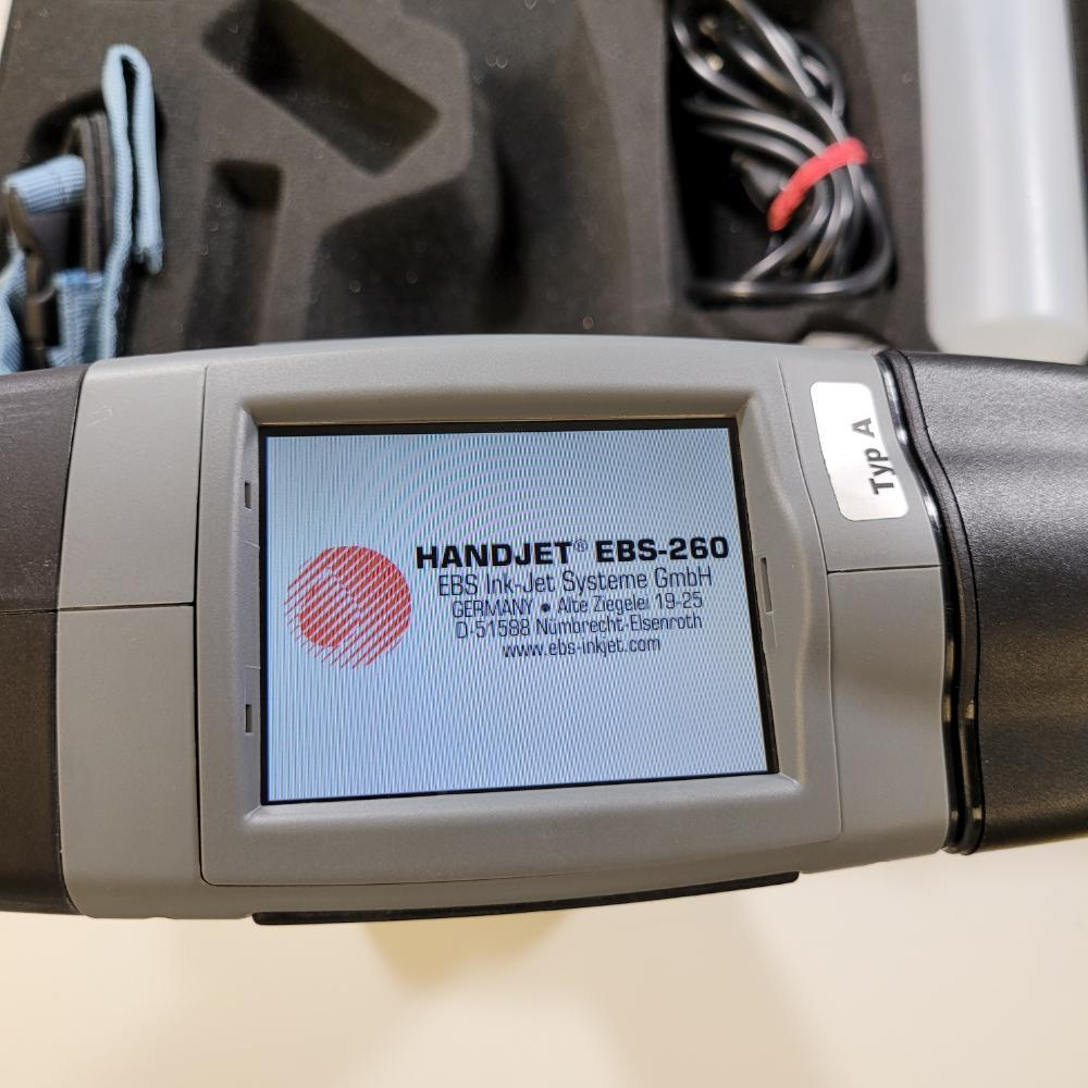 Handjet EBS-260 Mobile Printer Ink Jet COMPLETE with pipe attachment