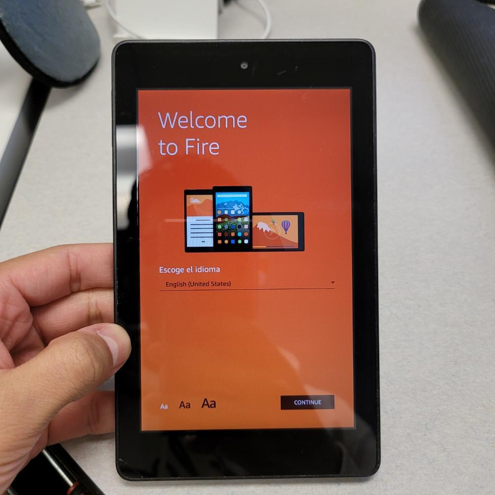 Amazon Fire HD 6 Tablet E-Reader (PW98VM) Wi-Fi - Black - Fast Shipping