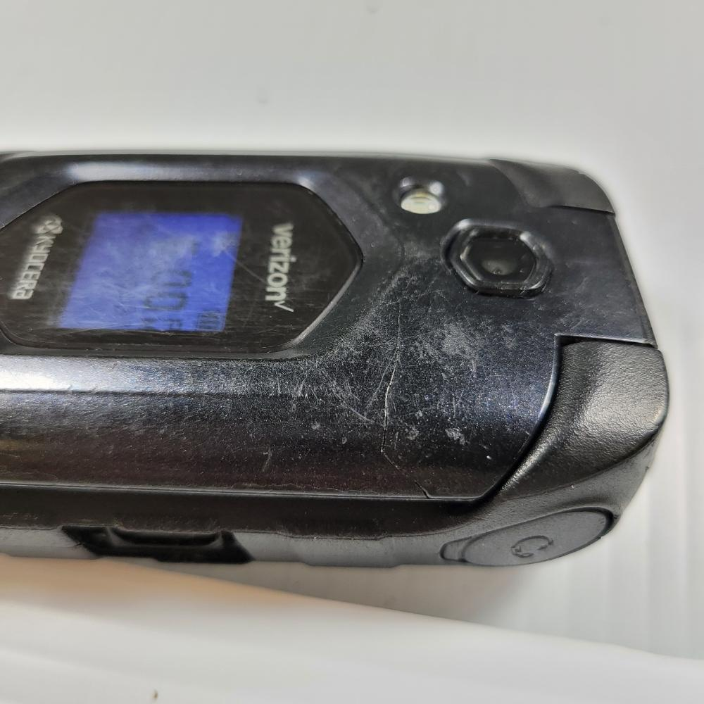 Kyocera E4610 (Verizon) DuraXV PTT Rugged Flip Phone 4G LTE - 990006152338157