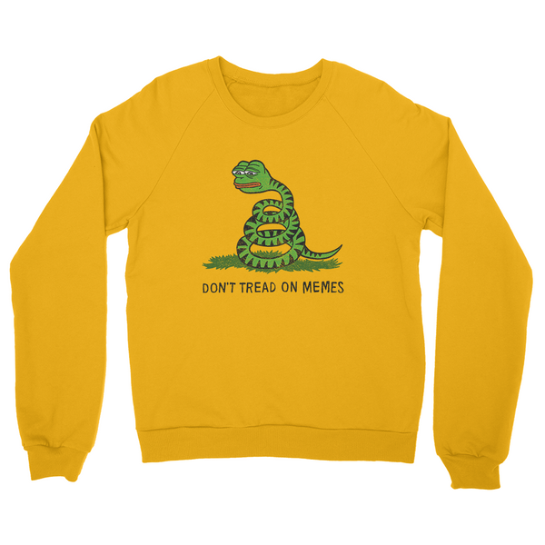 Don't Tread On Memes Sweater