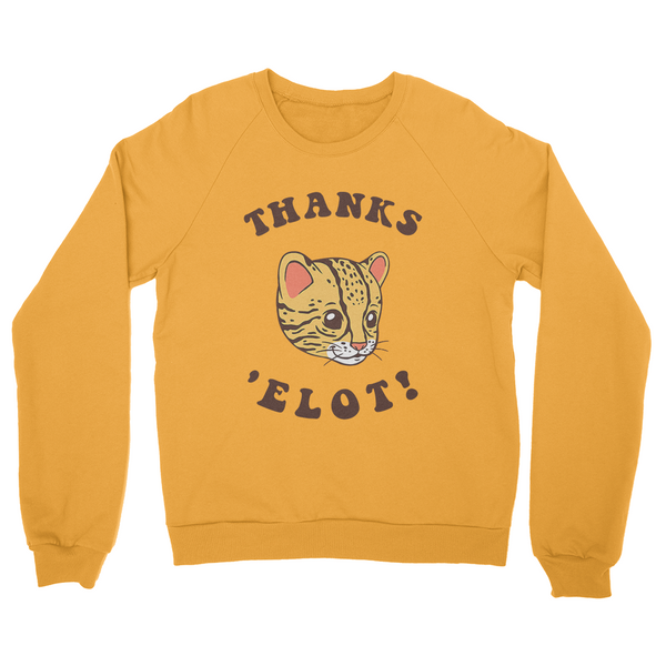Thanks Elot Ocelot Sweater