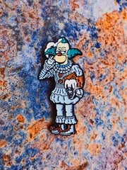 NEW! Pennywise Unmasked Enamel Pin