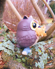 Owl & Mouse - ACoL Art Toy Collectible Series