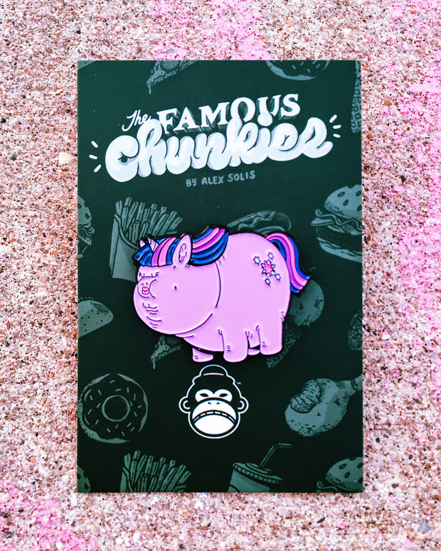 Chunky Twlight Enamel Pin
