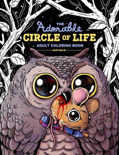 Adorable Circle of Life Digital Coloring Book!