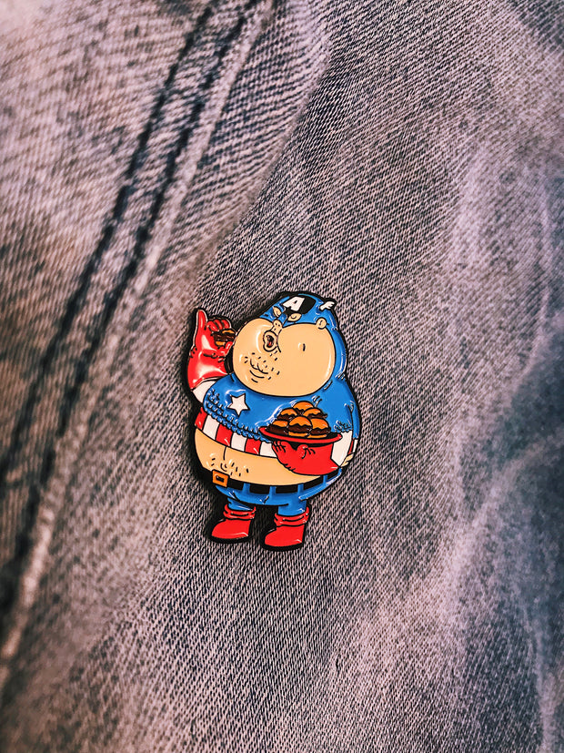 Super Famous Chunkies' Enamel Pins