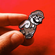 Inappropriate Mario Pin