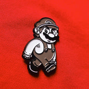 Inappropriate Mario Pin / COMING BACK IN JUNE!