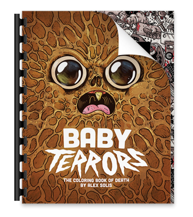 Baby Terrors Digital Coloring Book!