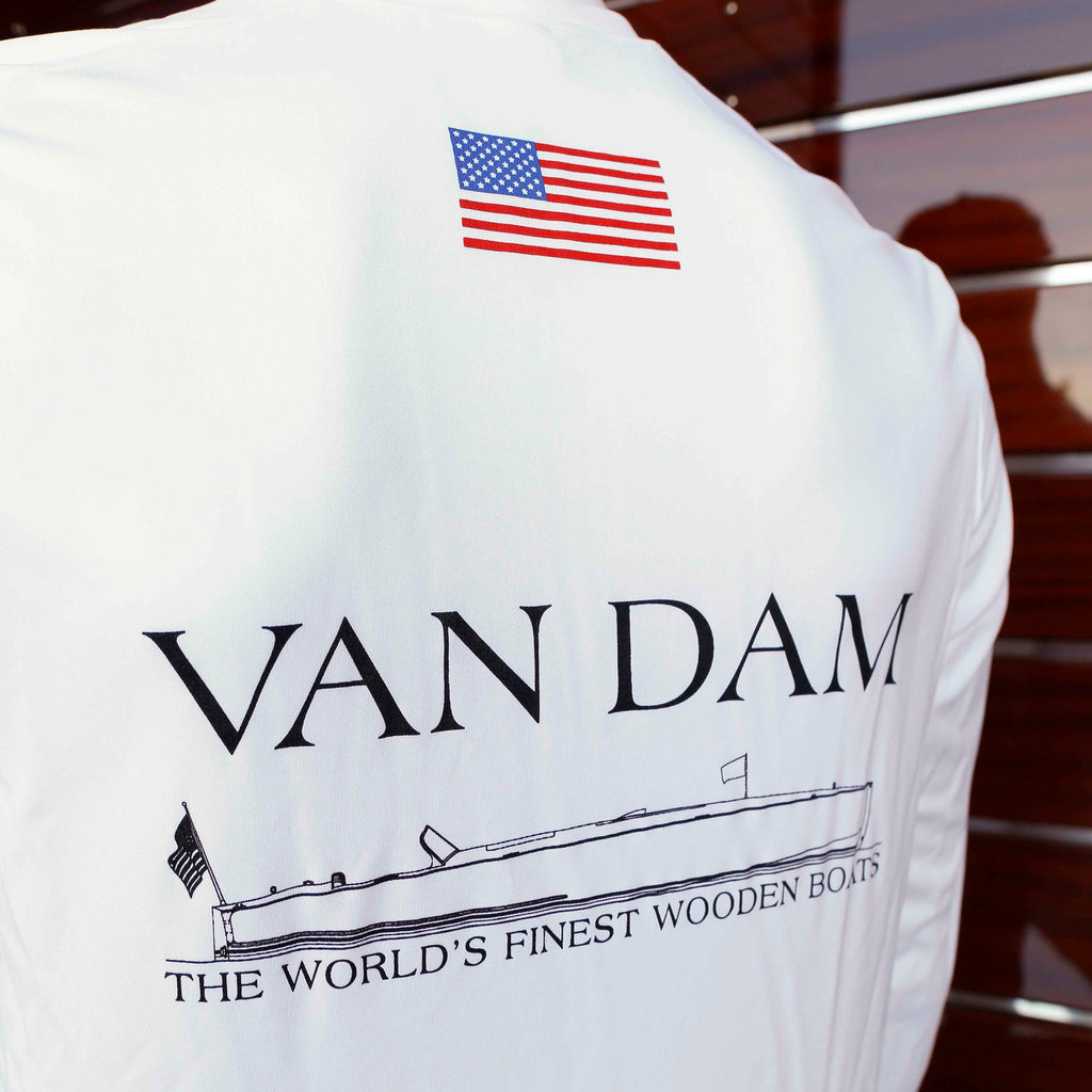 Men's UV Boat Shirt Van Dam 24 Design