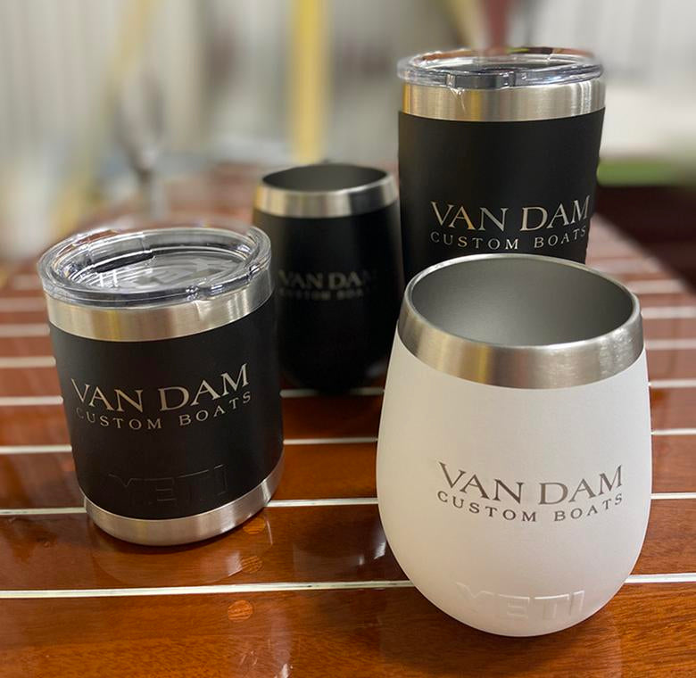 Van Dam Yeti Rambler and Wine Tumbler