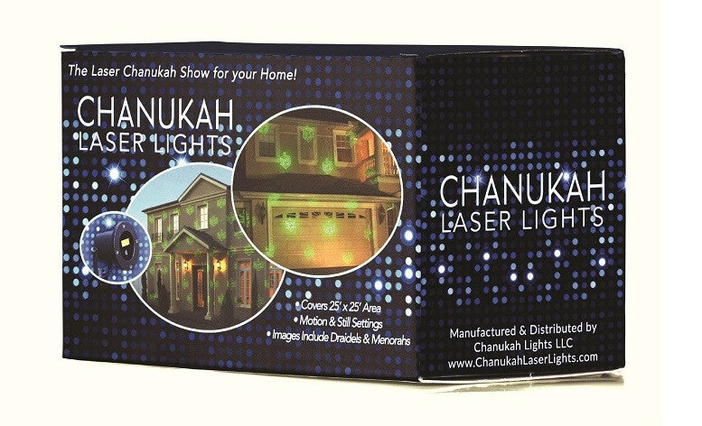 Chanukah Laser Light