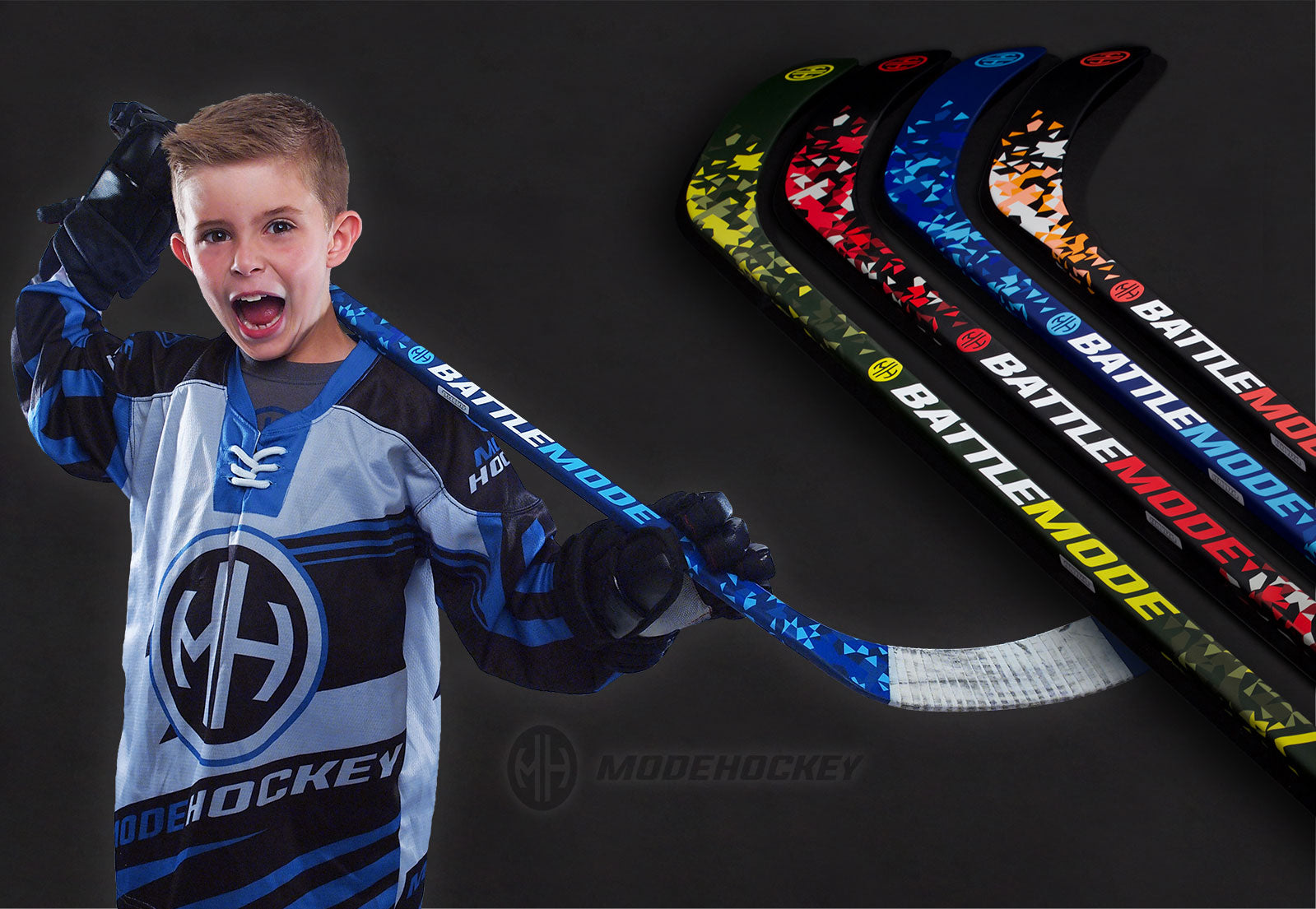 Modehockey junior hockey sticks home page