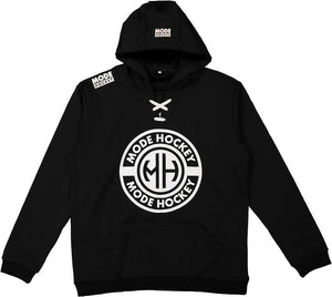 Modehockey Hoodie - Black and white