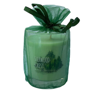 Scented Soy Candles PINE WOOD (11 oz) eliminates smoke, household, pet odors - Cigar boulevard