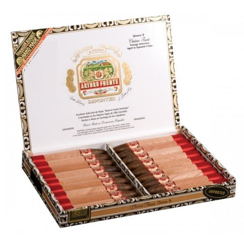 Image of Chateau Queen B Natural Torpedo 52 x 51/2 18 cigars - Cigar boulevard