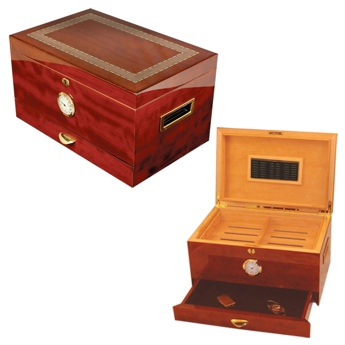 Arte Original Cigar Humidor for 150 Cigars - Cigar boulevard