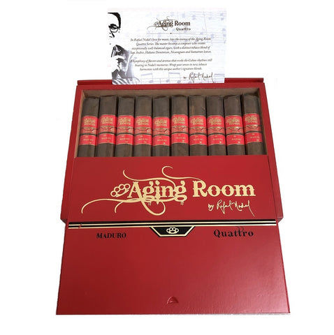 AGING ROOM QUATTRO MADURO Pack and Box Cigars - Cigar boulevard