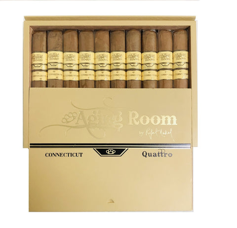 AGING ROOM QUATTRO CONNECTICUT Pack and Box Cigars - Cigar boulevard