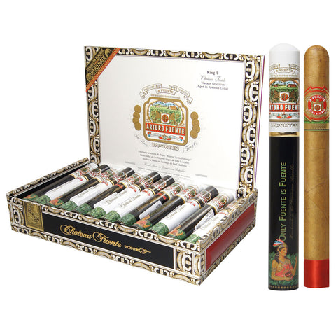 Arturo Fuente Chateau Fuente King T Cigars Box of 24 - Cigar boulevard