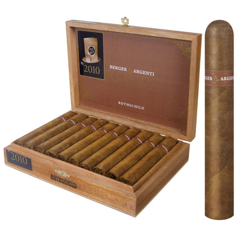 BERGER & ARGENTI CLASICO (Boxes Cigars) - Cigar boulevard