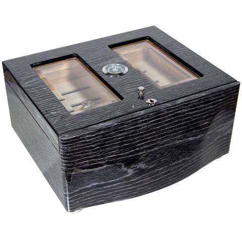 Image of Large Humidor Moderno Grande for 120 Cigars - Cigar boulevard