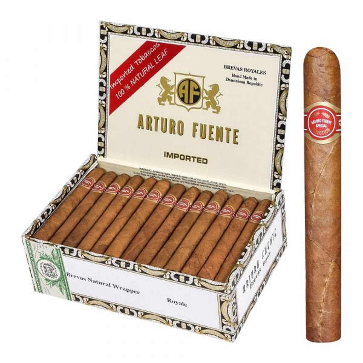 ARTURO FUENTE NATURAL (Pack, Box and Single Cigars)