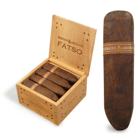 Image of BERGER & ARGENTI FATSO (Pack and Box Cigars) - Cigar boulevard