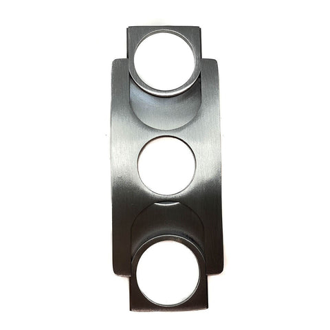 Cigar Boulevard Cigar Cutter FLAT Stainless Steel Credit Card Size Double Blade