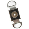 Cigar Boulevard PERFECT CIGAR CUTTER STAR Silver-Black Carbon Fiber