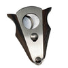 Cigar Boulevard Cigar Cutter Double Guillotine Action, Stainless Steel Blades with Mahogany Handles
