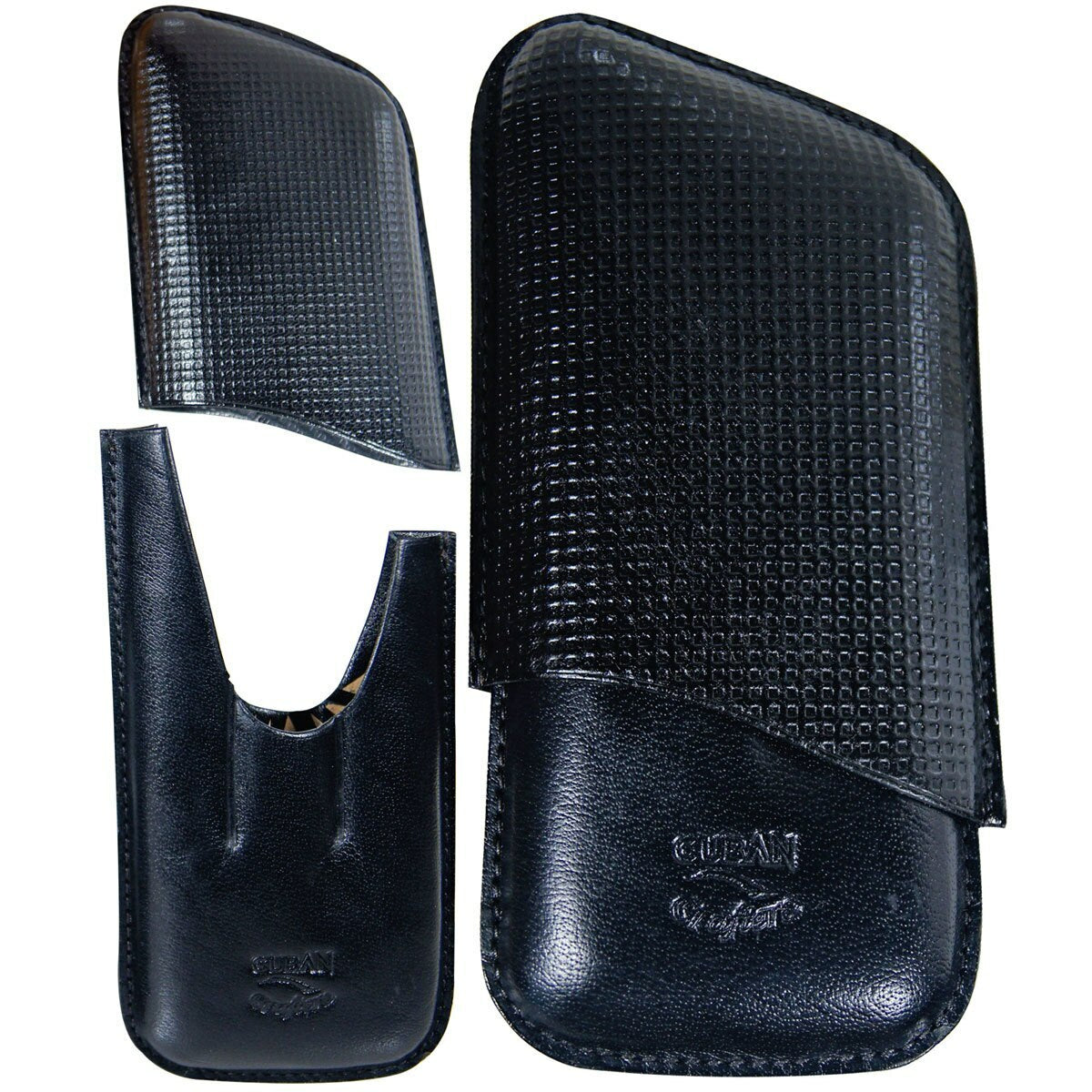 Combo Perfect Cigar Accessories II (Leather Case, Ashtray, Torch, Cutter) - Cigar boulevard