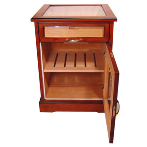 Cuban Crafters Cabinet Humidors End Table Humidor for 600 Cigars Free Shipping - Cigar boulevard