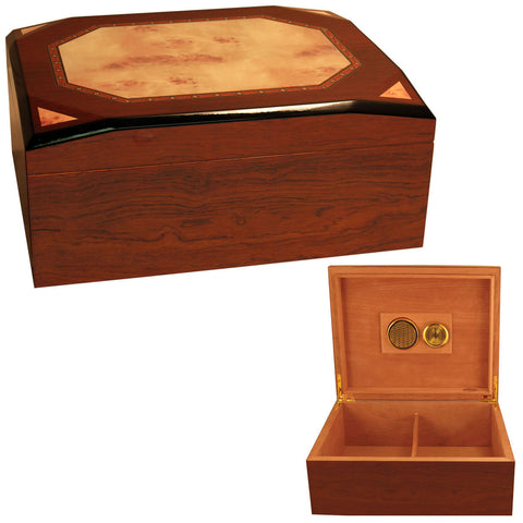 Image of Cuban Crafters Diamond Cigar Box Humidors for 50 Cigars - Cigar boulevard