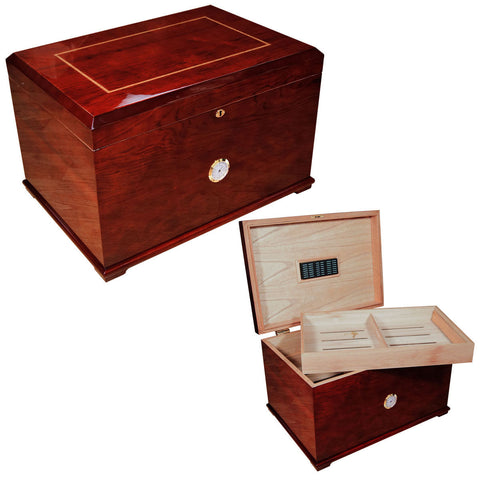Grande Large Cigar Humidor for 600 Cigars - Cigar boulevard