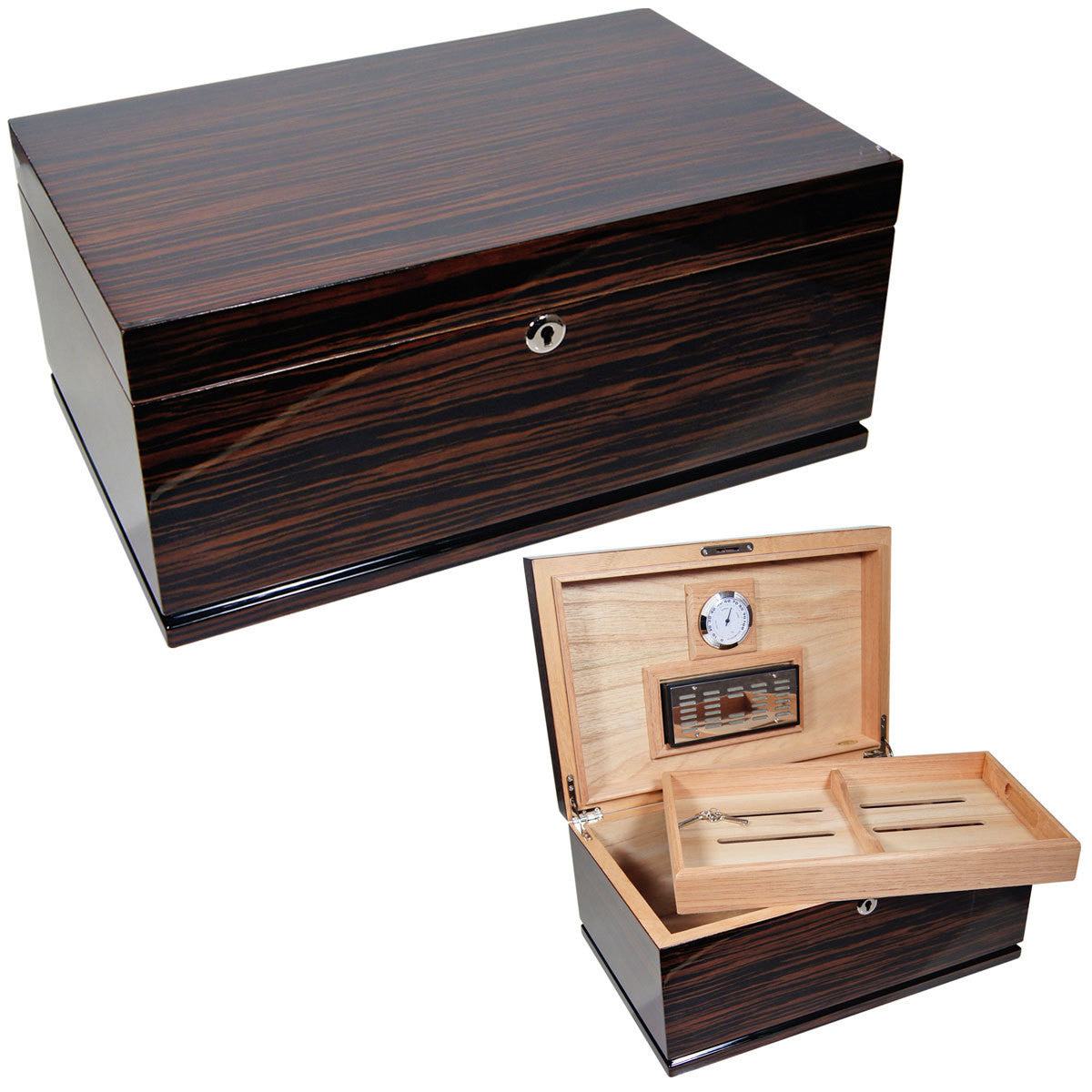 Cuban Crafters Gran Majestad Large Cigar Humidors for 150 Cigars - Cigar boulevard