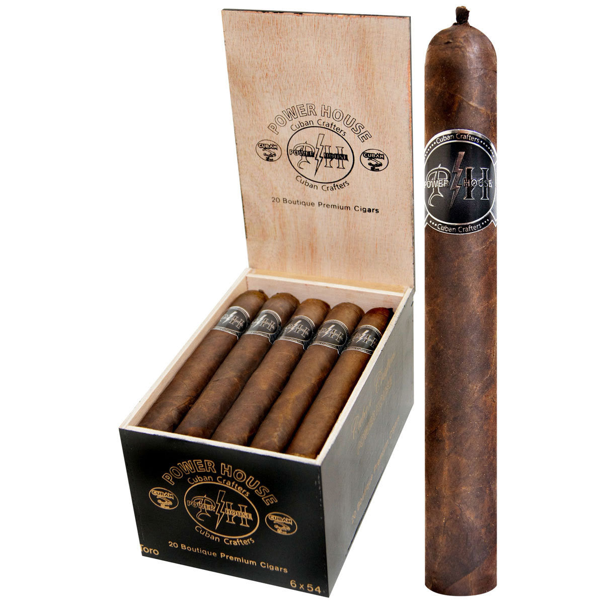 Cuban Crafters Power House Cigars Boxes of 20 - Cigar boulevard