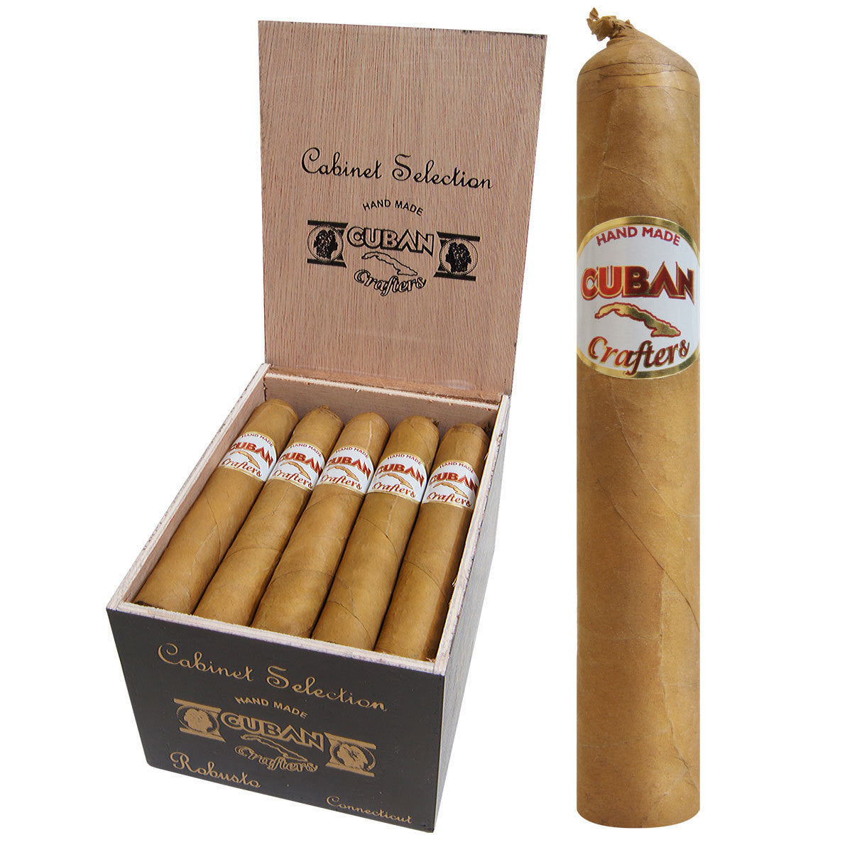 Cuban Crafters Cabinet Selection Cigars Connecticut Box of 20 ...