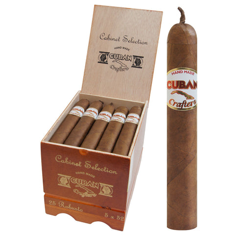Cabinet Selection Aficionado Cuban Crafters cigars Box of 20 - Cigar boulevard