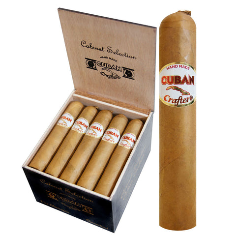 Connecticut Cigar Aficionado Cuban Crafters cigars Box of 20 - Cigar boulevard
