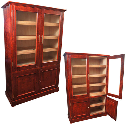 Image of Vitrina Doble Cabinet Humidor for 6000 cigars - Cigar boulevard